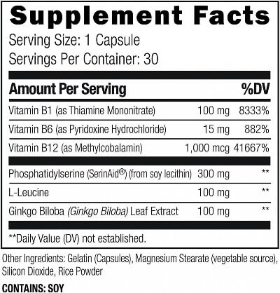 Umzu Cortigon Ingredients