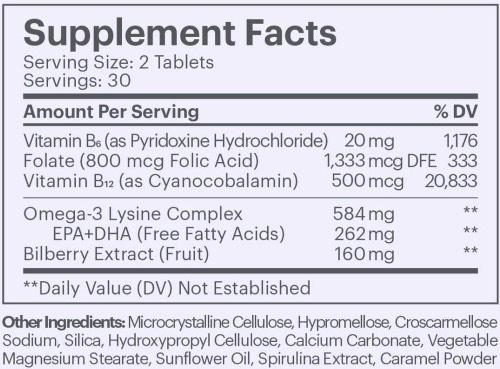 Elysium Matter Ingredients