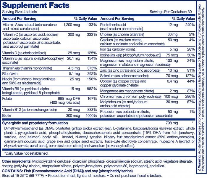 Focus Factor Ingredients