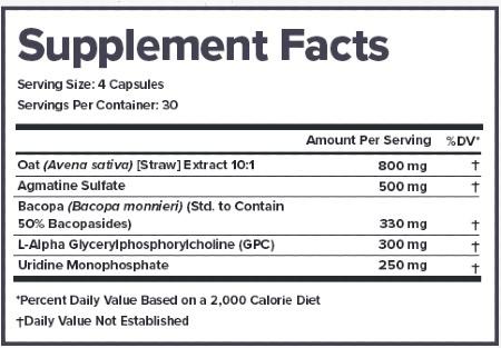 Legion Ascend Ingredients Label, Facts & Information