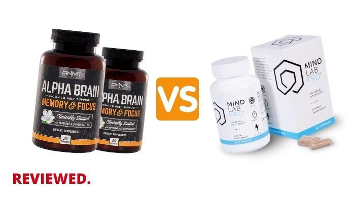 Alpha Brain vs Mind Lab Pro - Which is The BEST Brain Supplement?