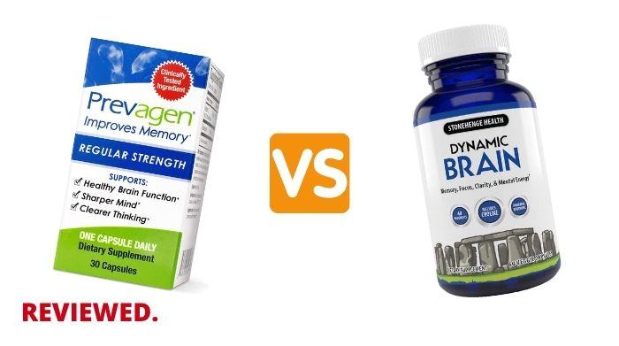 Prevagen vs Dynamic Brain - Which Brain Supplement is Better?